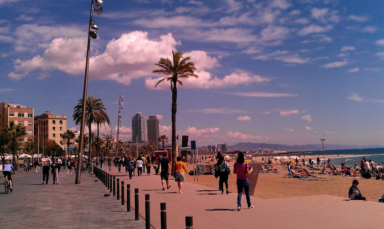Relax e movida a Barcellona