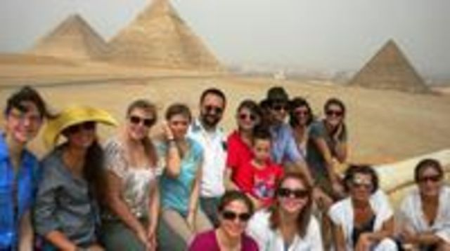 Photo of Private Guided Day Trip Egyptian Museum Giza Pyramids and Nile River in Cairo