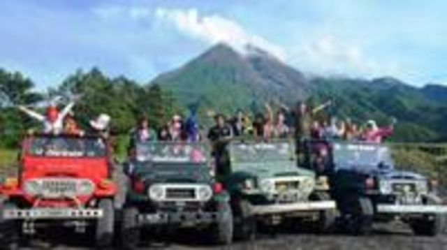 Photo of Merapi Volcano and Jomblang Cave Tour from Yogyakarta
