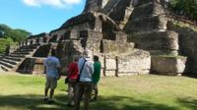 Photo of Belize Cave Tubing and Altun Ha Combination Tour