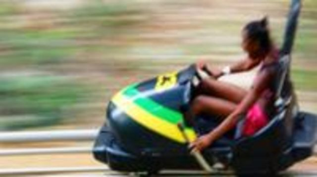 Photo of Shared Mystic Mountain Jamaica Bobsled Tour from Falmouth
