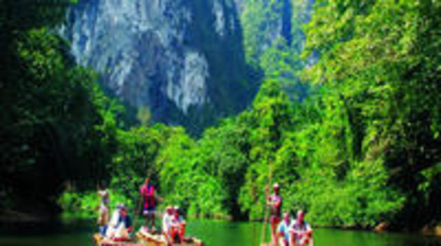 Photo of Day Trip Khaosok Discovery  from Phuket ( Canoe or Bamboo rafting )