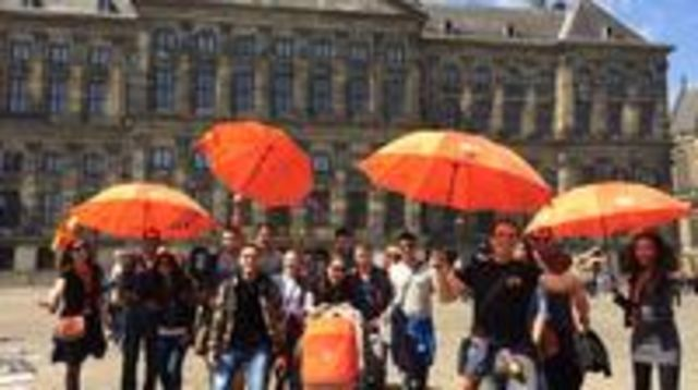 Photo of Amsterdam Walking Tour with Coffee and Dutch Treat