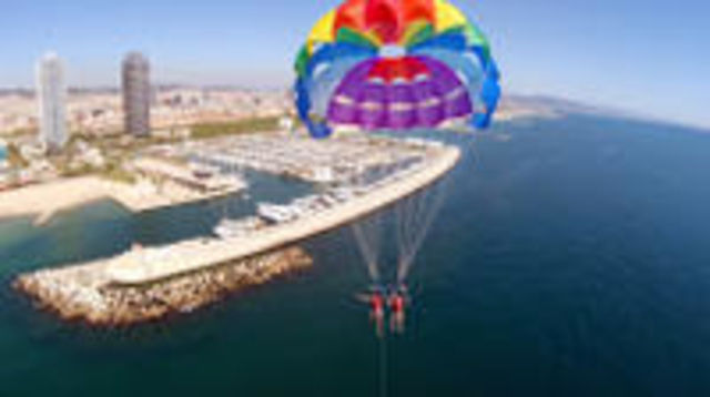 Photo of Parasailing Experience in Barcelona