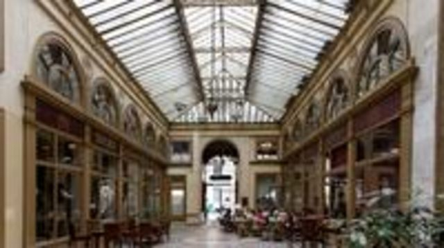 Photo of Paris 2-Hour Walking Tour of Covered Passages Including Visit to Palais Royal Gardens