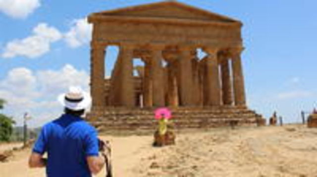 Photo of Agrigento and Siracusa Helicopter Tour including Skip the Line at the Valley of Temples