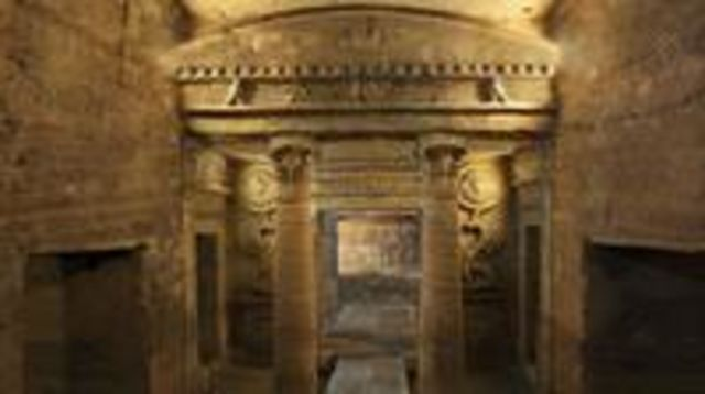 Photo of Discover Alexandria: Day Tour from Cairo to Catacombs of Kom El Shoqafa Pompeys Pillar National Museum and Montaza Gardens with Lunch