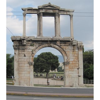 Photo of Arch of Hadrian (Athens)