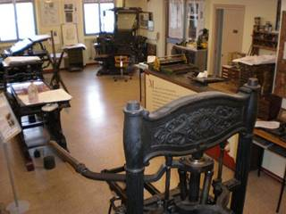 Photo of Museum of printing The typographical sign Lodovico Pavoni