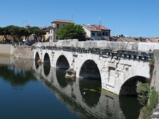 Tiberius bridge - Rimini